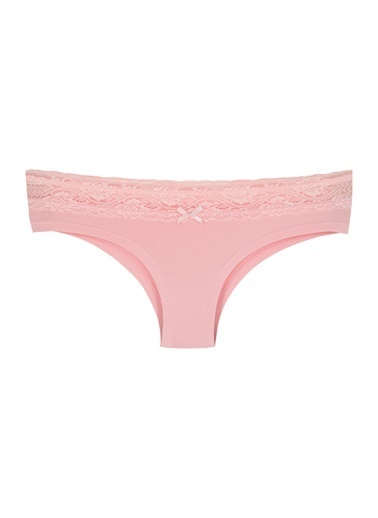 Sensu Kadın Panty Beli Dantelli Külot 5 Li Paket  Kts2003 Renkli